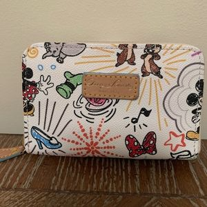 Disney World Dooney and Bourke Wallet